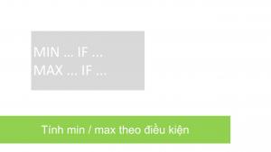 06 MIN IF MAX IF