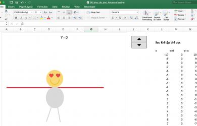 Biểu đồ động Excel