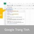 google trang tinh - importrange