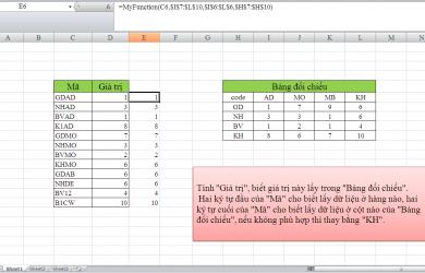 Hướng dẫn sử dụng Worksheet Function trong VBA