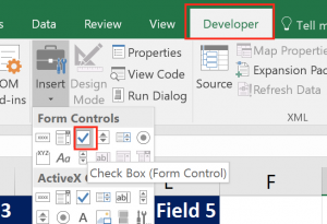 check box form control