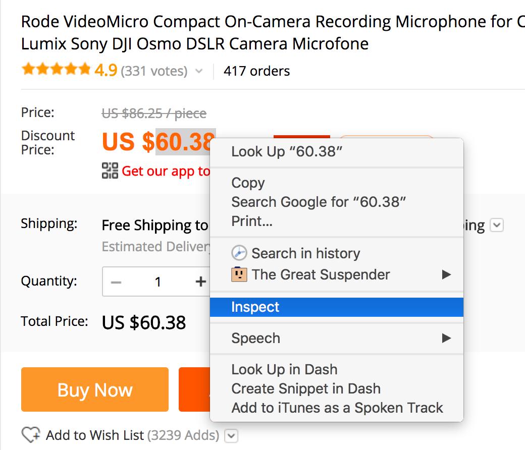 Hàm importxml trong Google Sheet lấy giá sản phẩm tự động