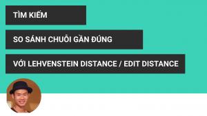 Edit distance, lehvenstein distance