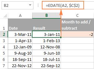 cách cộng trừ ngày, tháng, năm trong excel - học excel online miễn phí