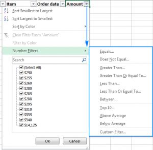 hướng dẫn cách lọc dữ liệu trong excel cực kỳ chi tiết