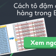 cach-to-dam-cach-hang-trong-excel