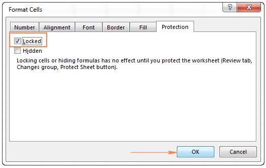 Những         Cách khóa và mở các ô trong Excel