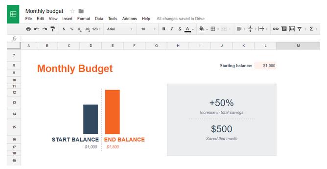 Các tính năng tiện lợi trong Excel trực tuyến 1