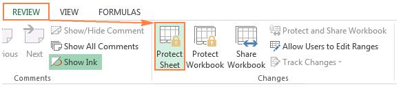 Cách khóa và mở các ô trong Excel đơn giản trong một nốt nhạc