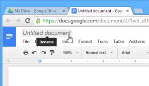2- Hướng Dẫn Tạo Lập Google Docs