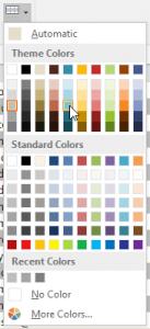 Chọn màu No Color