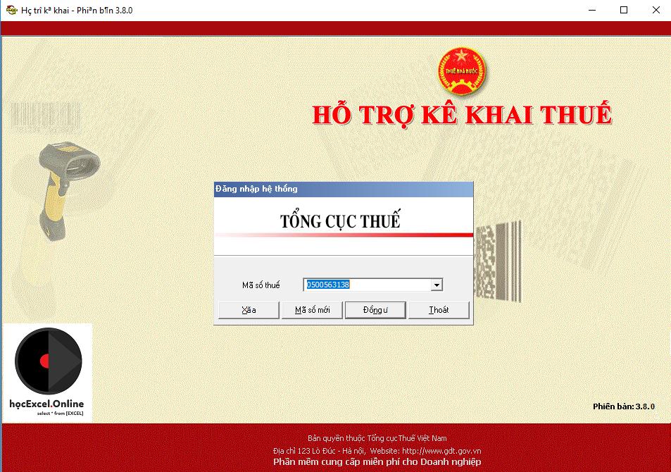 Hình 1: Tải và cài đặt phần mềm quyết toán thuế TNCN