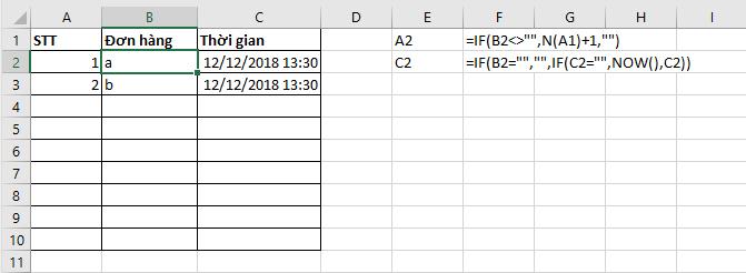 3 - sửa lỗi Circular References Warning trong Excel