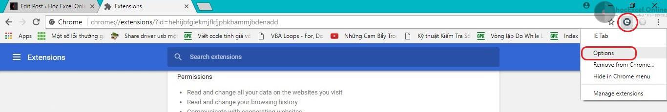 2 - sử dụng Google Chrome để kê khai thuế qua mạng