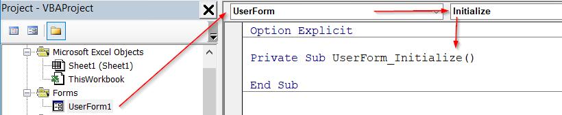 Hướng dẫn cách tạo danh sách chọn cho combobox trong