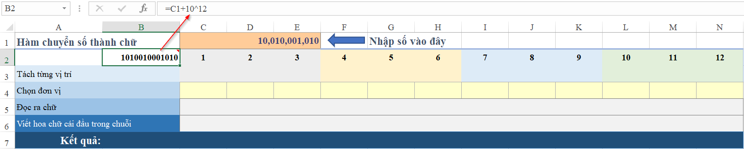 Cách Đọc số tiền bằng chữ