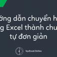Hướng dẫn chuyển công thức trong Excel thành chuỗi kí tự đơn giản