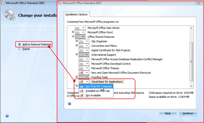 Cách sửa lỗi không chọn được Visual Basic, Macro trong thẻ Developer