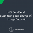 chứng chỉ Excel
