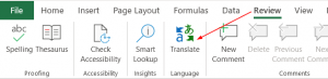 Excel-review-translate-icon