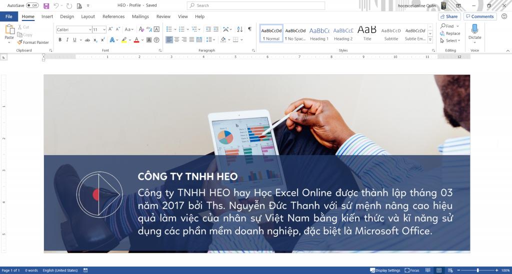 3- Cách chỉnh sửa file PDF bằng Microsoft Word