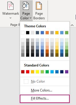 Hướng dẫn thay đổi hình nền, background trong Word