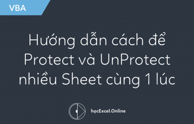 Hướng dẫn cách để Protect và UnProtect