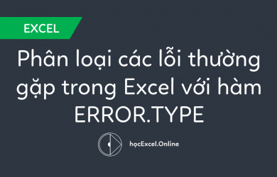 hàm ERROR.TYPE