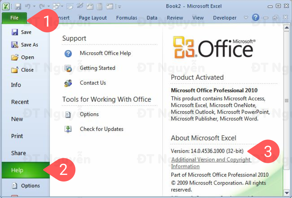 Excel 2010 bản 32bits hay 64bits để cài đặt Power Query