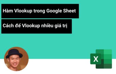 Cách để Vlookup nhiều giá trị trong GG Sheets - Google Sheets Vlookup