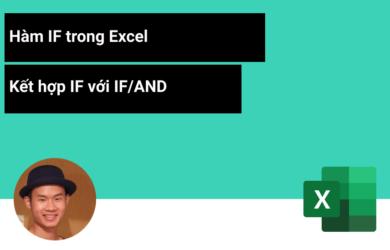Câu lệnh IF trong Excel với nhiều điều kiện IF/AND