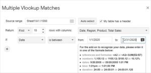 3 Google Sheets Vlookup