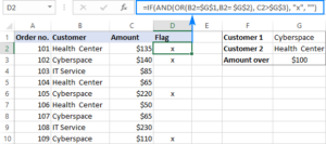 Công thức IF AND trong Excel 12