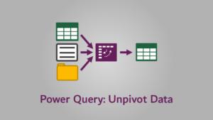 1-Power-Query-Unpivot-Data