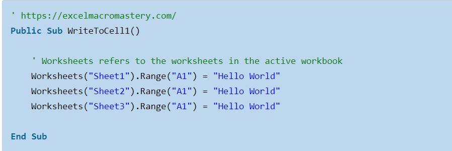 2-Truy cập worksheet