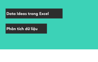 data ideas trong excel