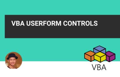 VBA userform control