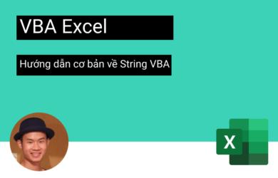 hướng dẫn cơ bản về String VBA