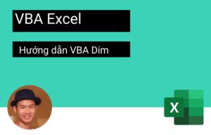 hướng dẫn VBA dim
