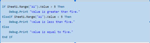1-Hướng dẫn đầy đủ câu kệnh If VBA