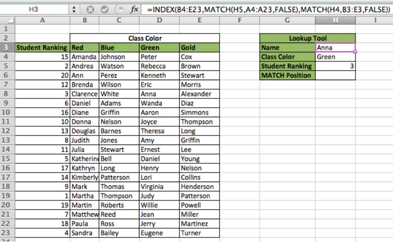1- Hàm Vlookup và hàm Index Match - Hàm nào hiệu quả hơn?
