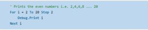 10- VBA for Loop