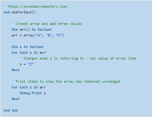 20- VBA for Loop