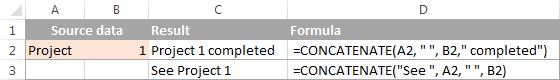 3-CONCATENATE trong Excel: Kết hợp chuỗi