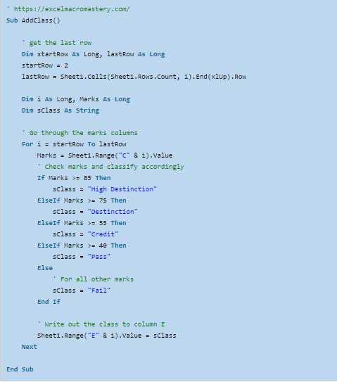 31-Hướng dẫn đầy đủ câu kệnh If VBA