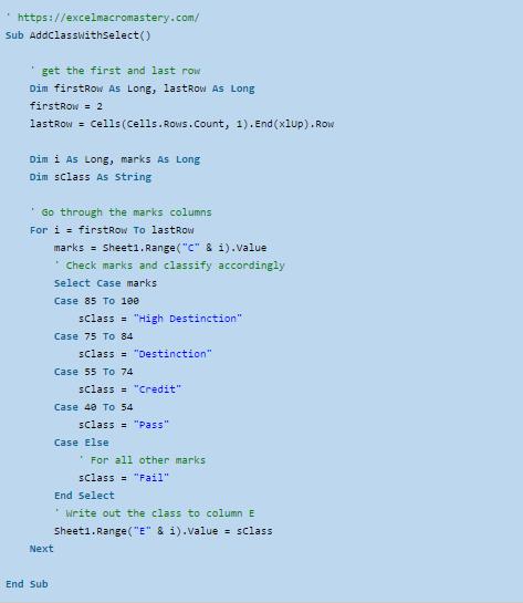32-Hướng dẫn đầy đủ câu kệnh If VBA