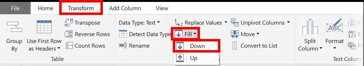 4- Power Query - Bỏ sao lưu dữ liệu trong một cột
