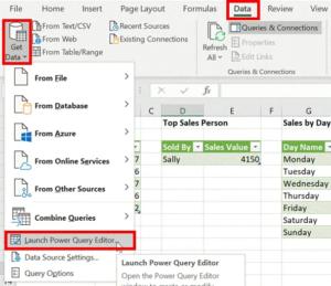 5- power query - chỉnh sửa truy vấn