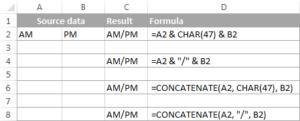 8-CONCATENATE trong Excel: Kết hợp chuỗi