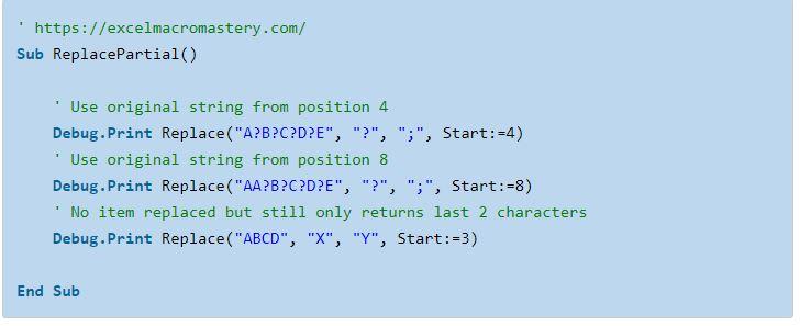 19- hướng dẫn cơ bản về hàm String VBA